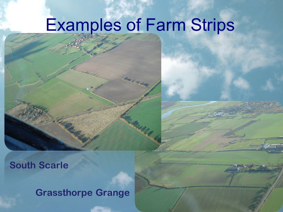 Examples of Farm Strips South Scarle Grassthorpe Grange