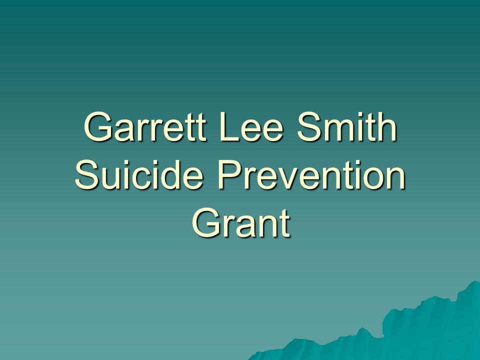 Garrett Lee Smith Suicide Prevention Grant