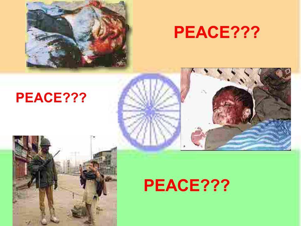 PEACE ????