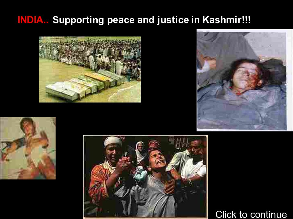 INDIA REFUSED TO GIVE SELF DETERMINATION RIGHT TO KASHMIRIS.