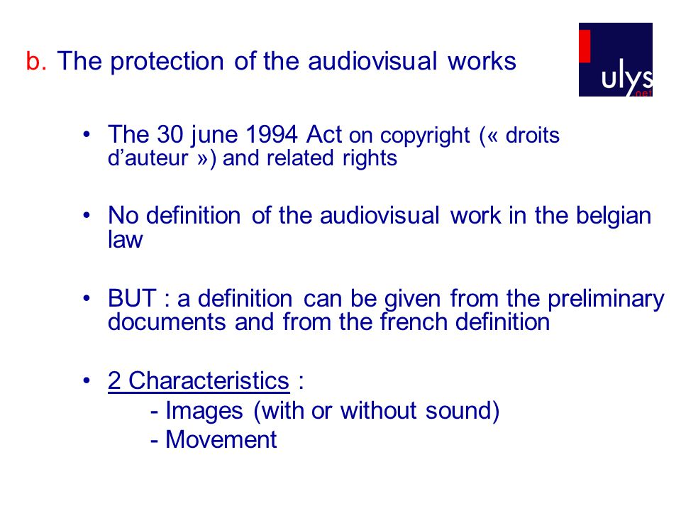 2.The collective work a.Definition Intellectual property Code, Article L.