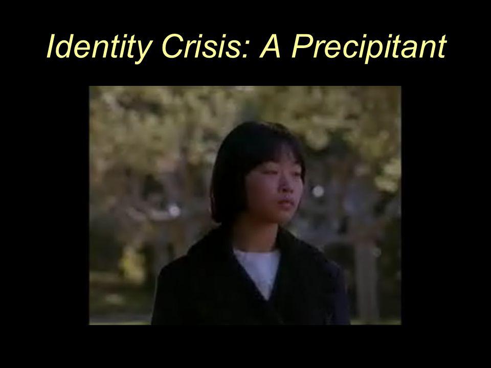 80 Identity Crisis: A Precipitant