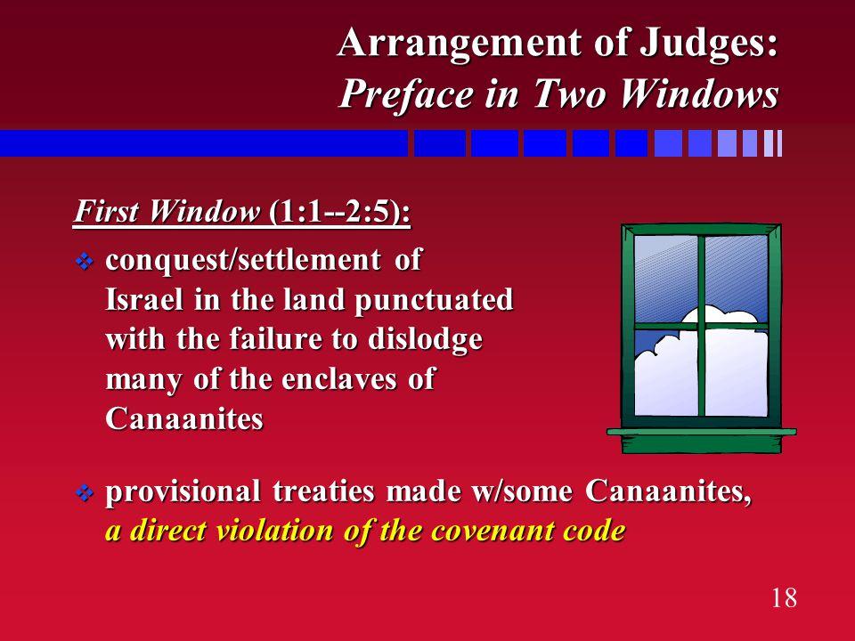 17 Arrangement of Judges: 3 Sections