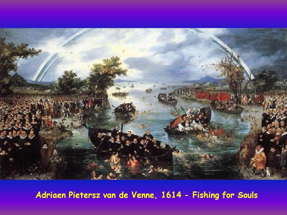 Adriaen Pietersz van de Venne, 1614 - Fishing for Souls