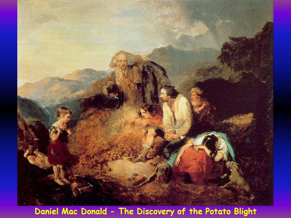 Daniel Mac Donald - The Discovery of the Potato Blight