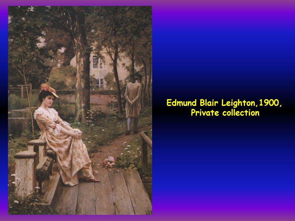 Edmund Blair Leighton,1900, Private collection