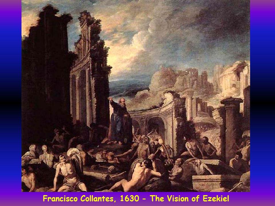 Francisco Collantes, 1630 - The Vision of Ezekiel