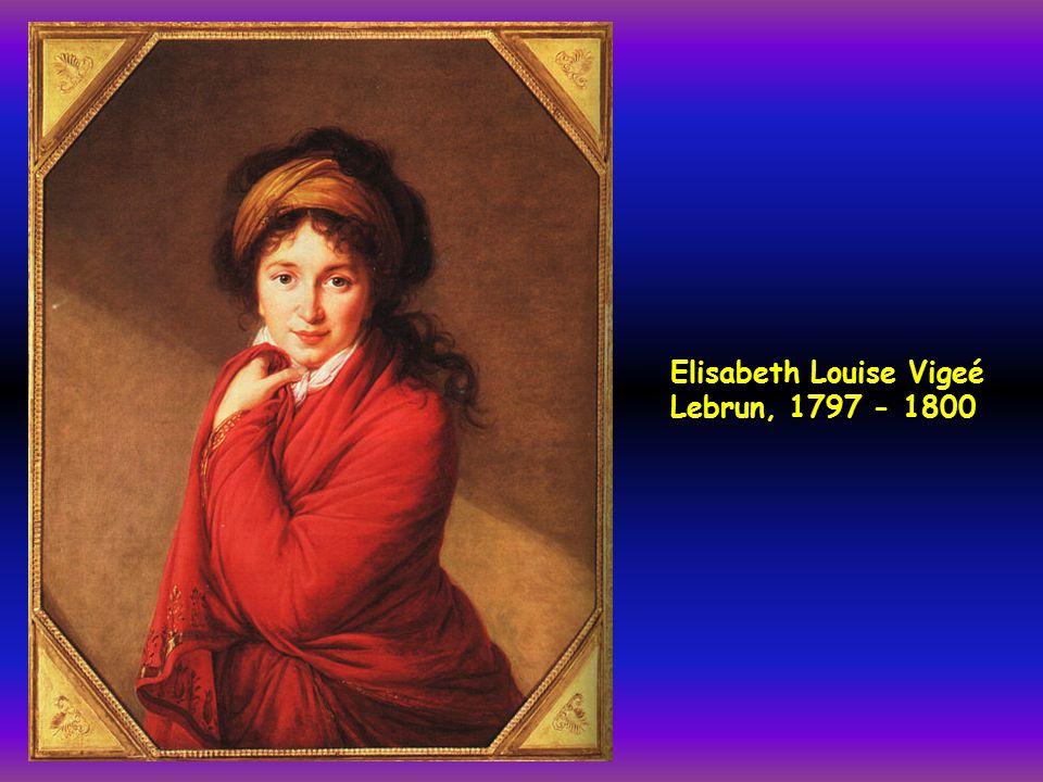 Elisabeth Louise Vigeé Lebrun, 1797 - 1800