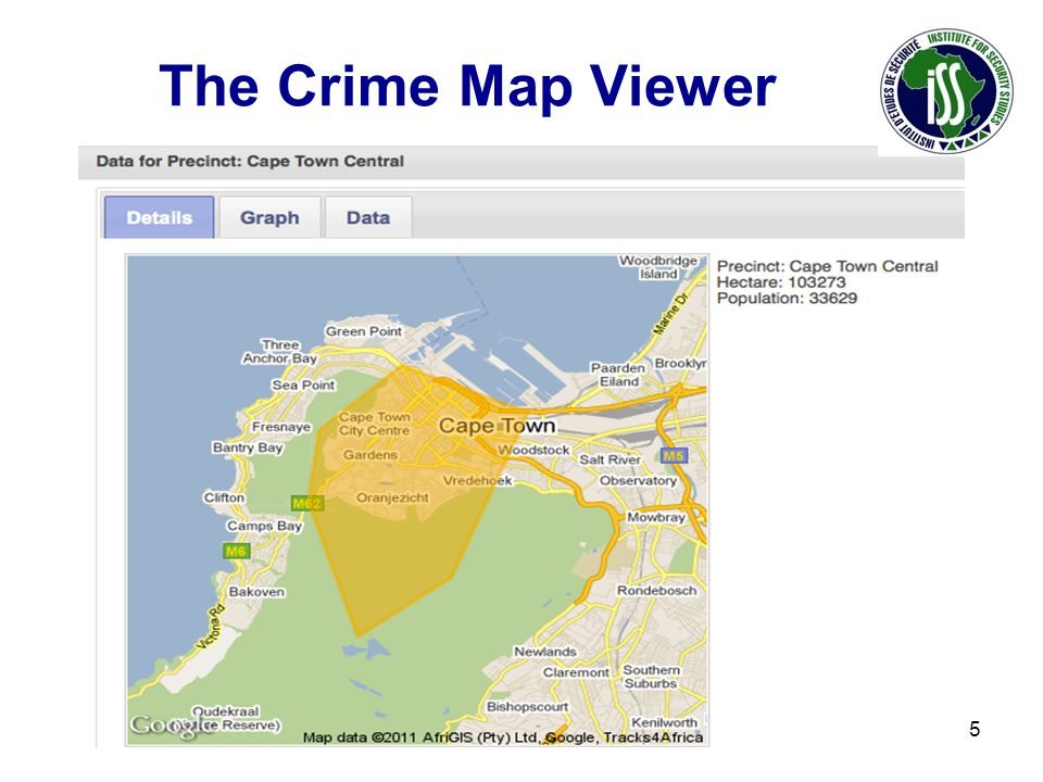The Crime Map Viewer 15