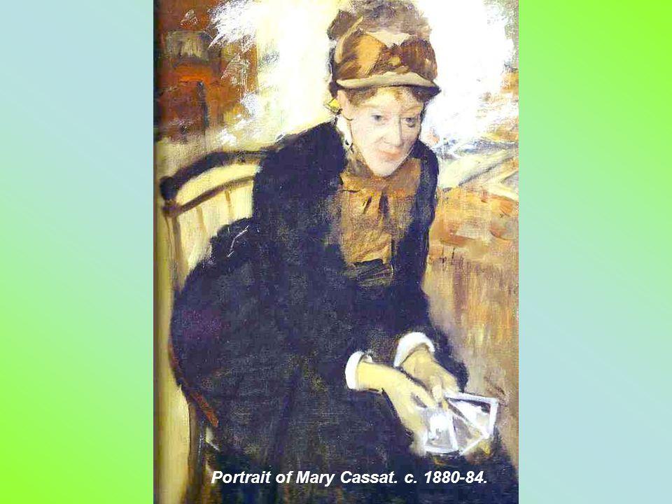 . Portrait of Madame Dietz-Monnim. 1879. Pastel