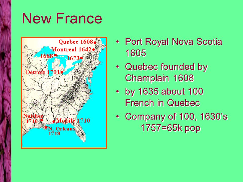 The Northern Colonies Massachusetts Bay to Religious Non- conformists: 1622 Mass Bay corp.