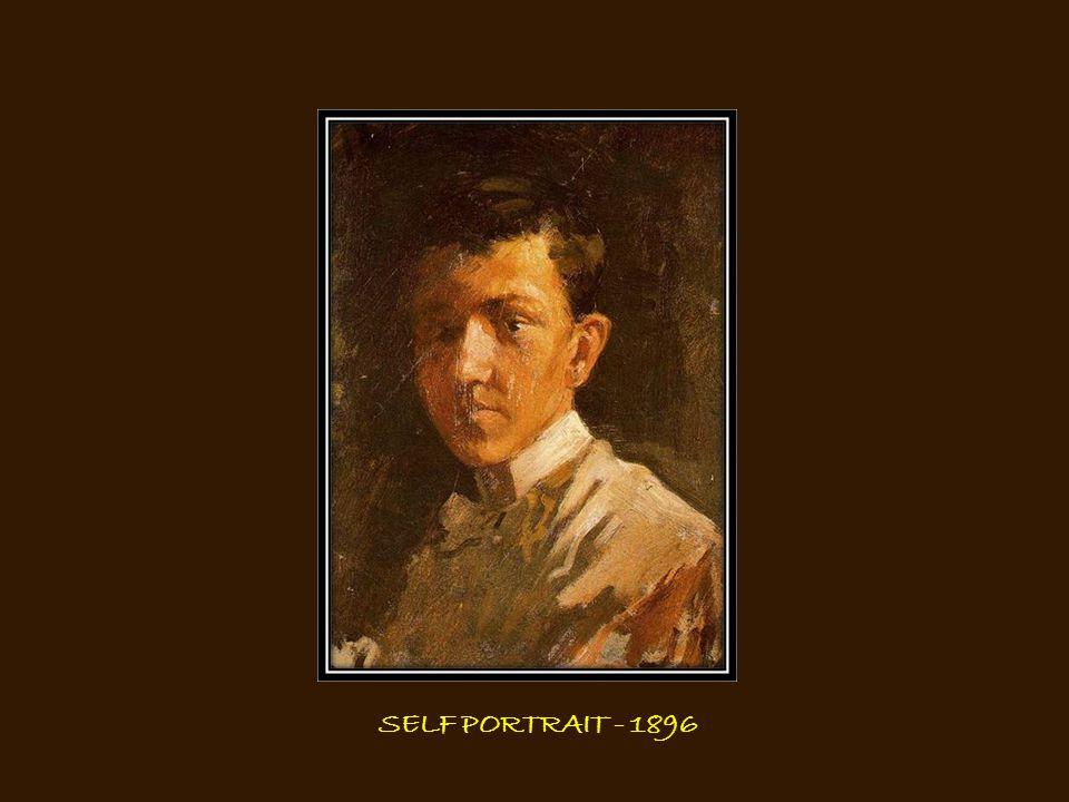 SELF PORTRAIT - 1896