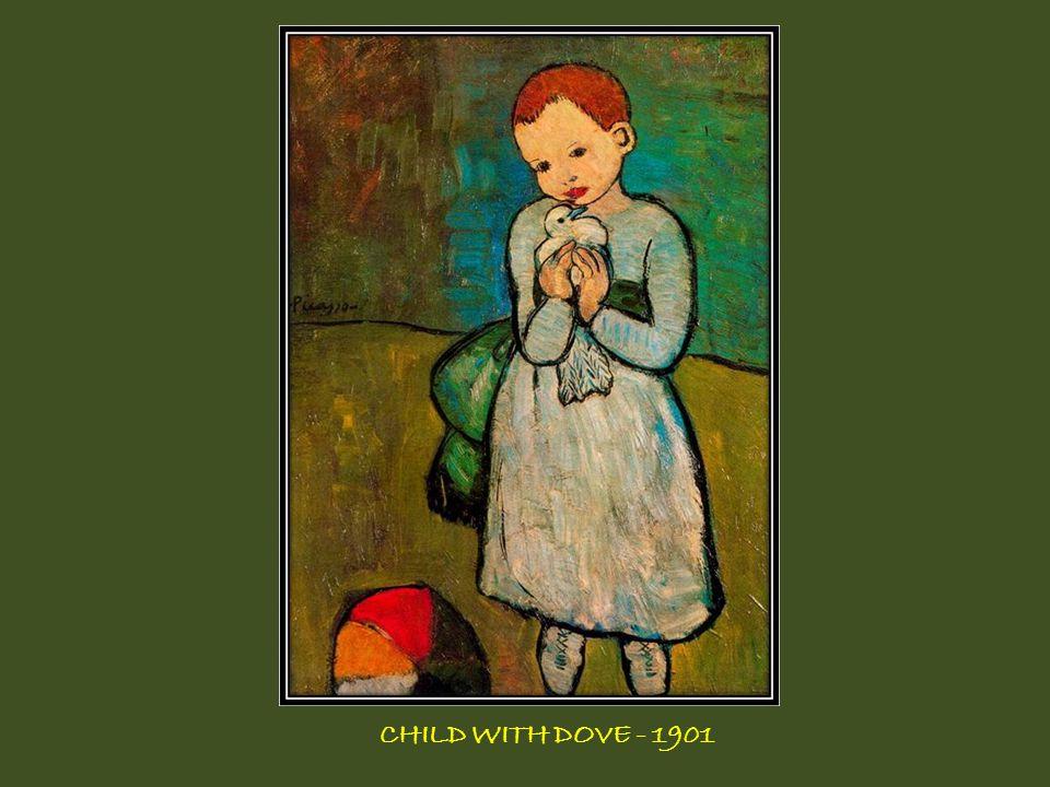 CHILD WITH DOVE - 1901