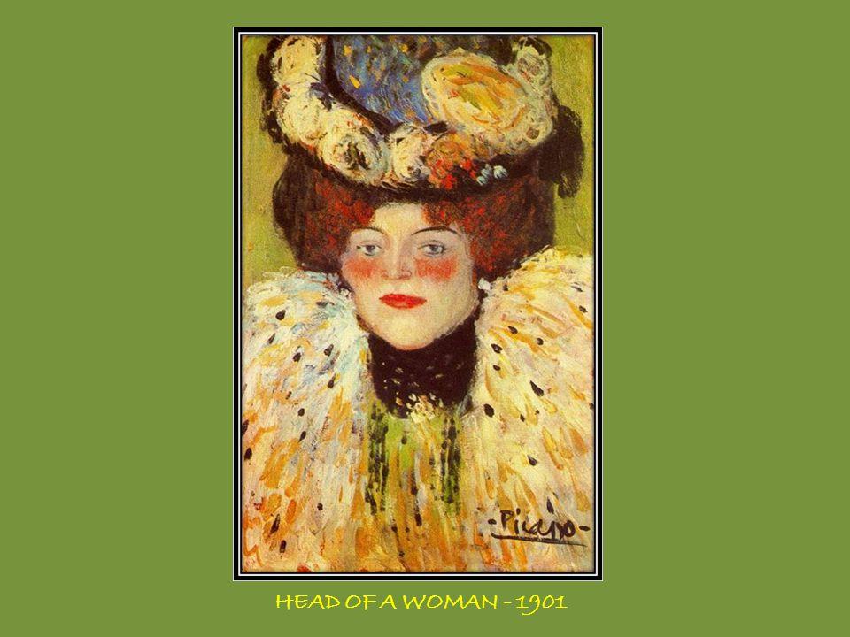 WOMAN WITH A FAN - 1908