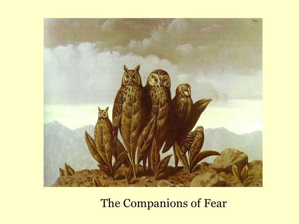The Companions of Fear