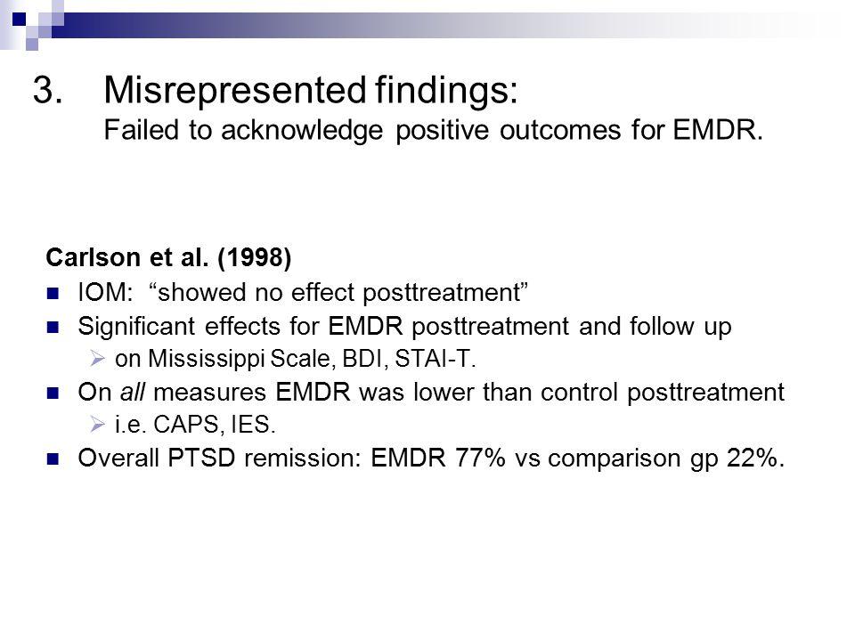 3.Misrepresented findings van der Kolk et al.