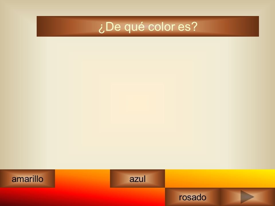 ¿De qué color es? amarilloazul rosado