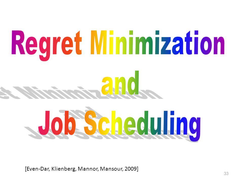 33 [Even-Dar, Klienberg, Mannor, Mansour, 2009]