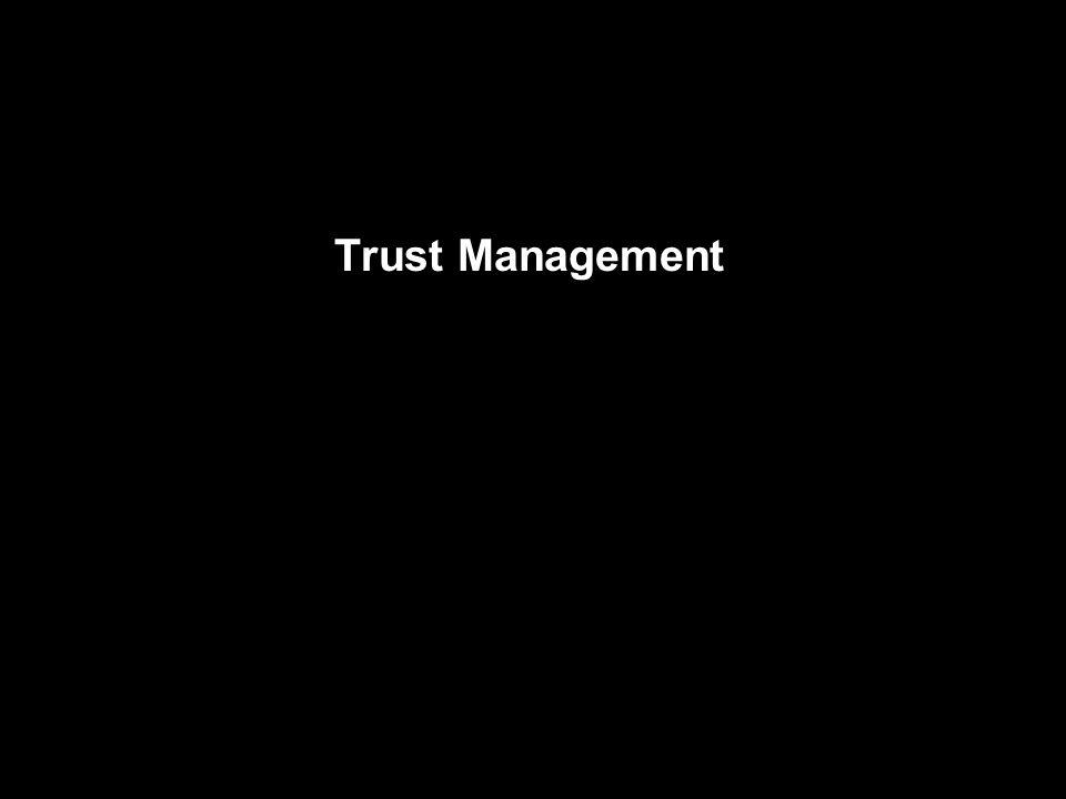 Trust Management
