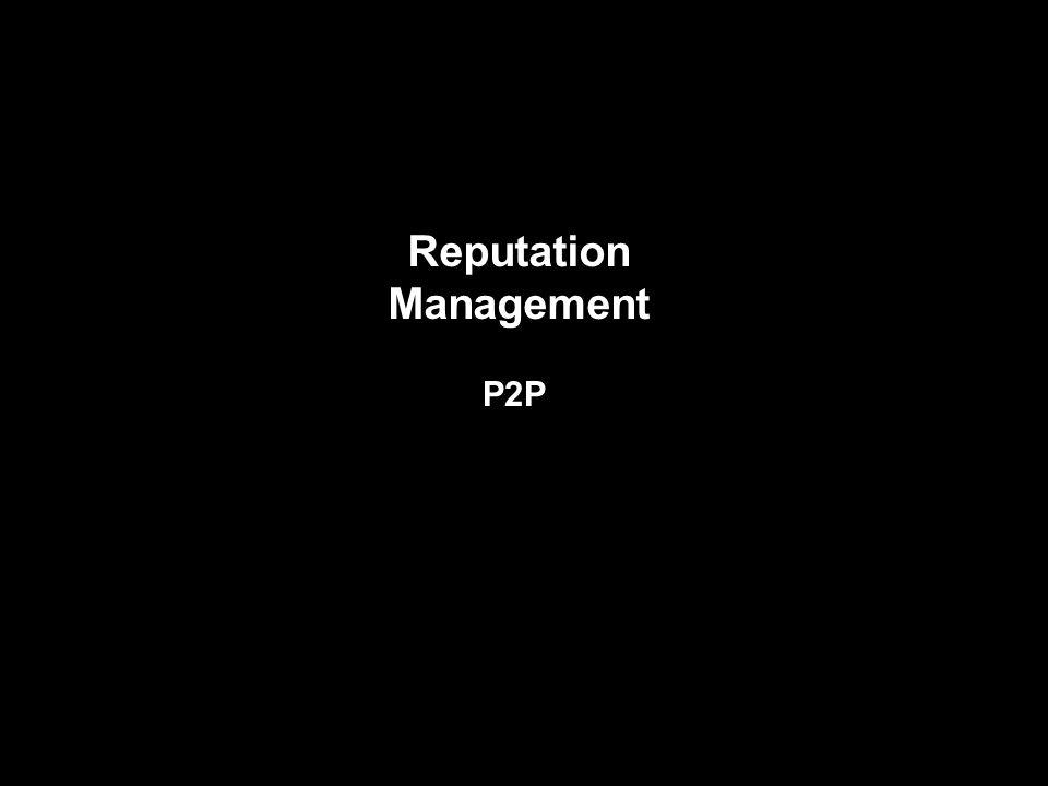 Reputation Management P2P