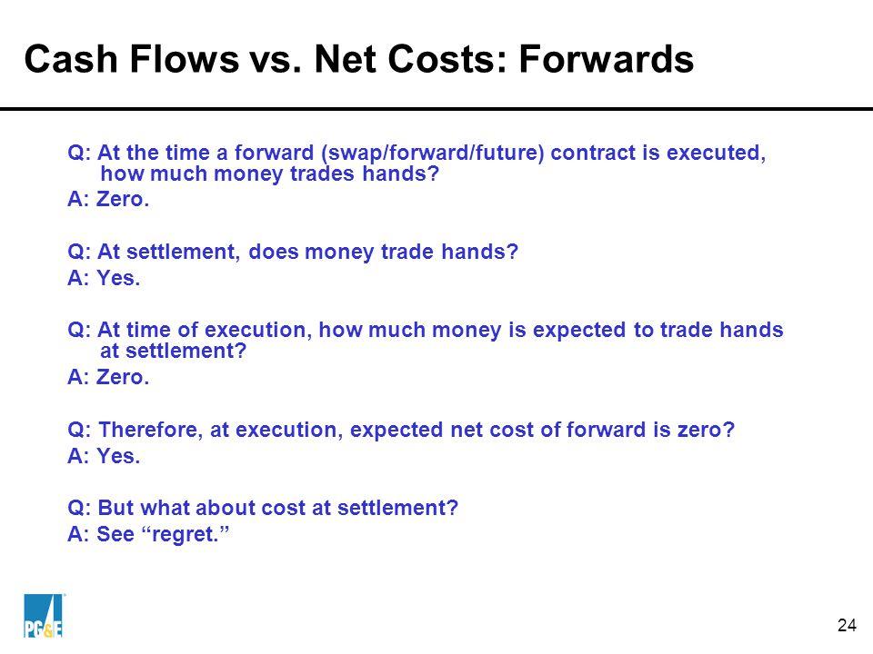 24 Cash Flows vs.