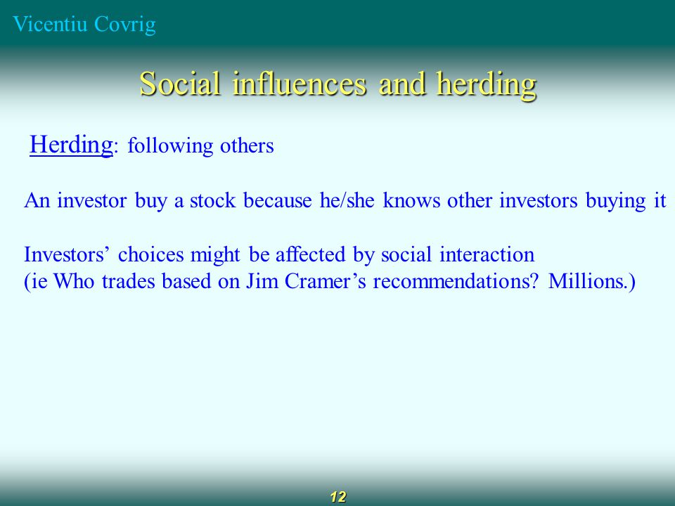 Vicentiu Covrig 13 Investment rules of thumb (p.