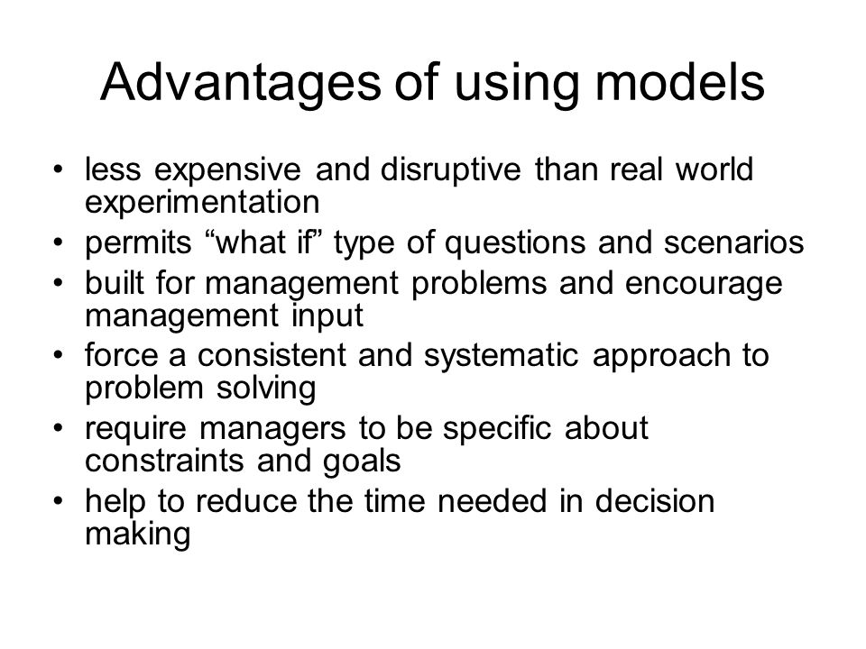 Homework for Decision-Making Tools (Problem 1 continuous) 1.