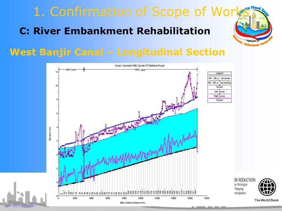 1 August 2007 C: River Embankment Rehabilitation 1.
