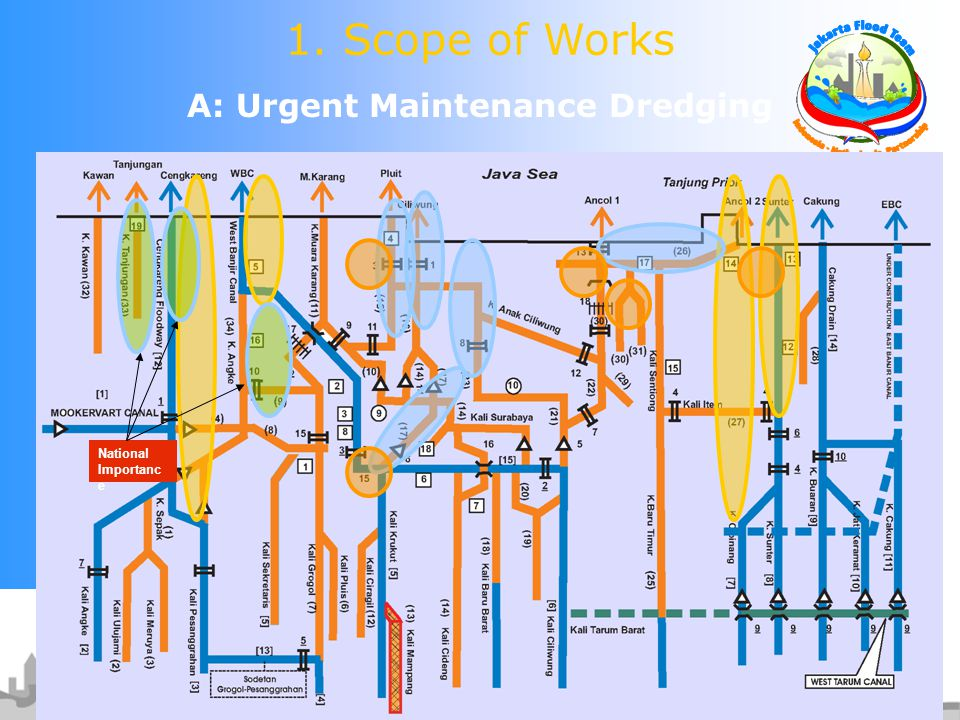 A: Urgent Maintenance Dredging 1. Scope of Works National Importanc e
