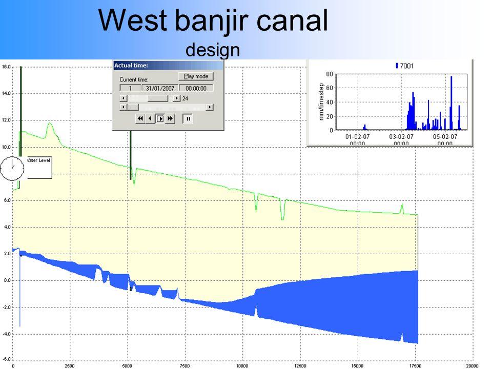 West banjir canal design