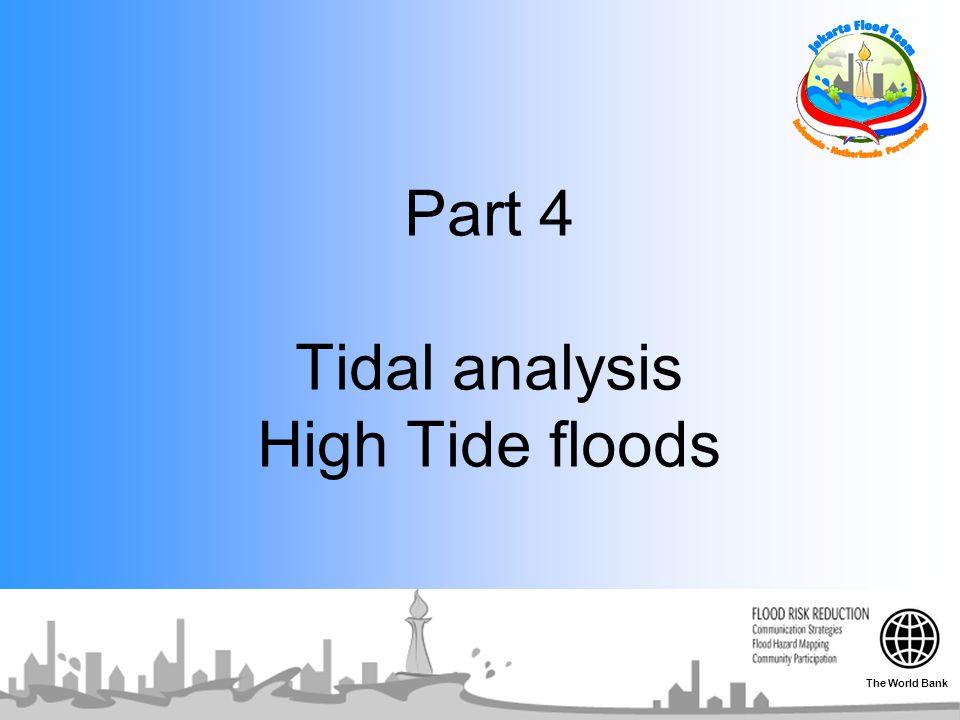 Part 4 Tidal analysis High Tide floods The World Bank