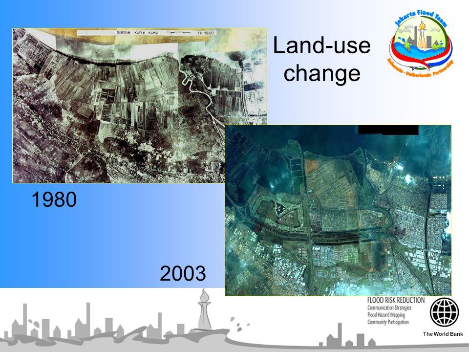 1980 2003 Land-use change The World Bank