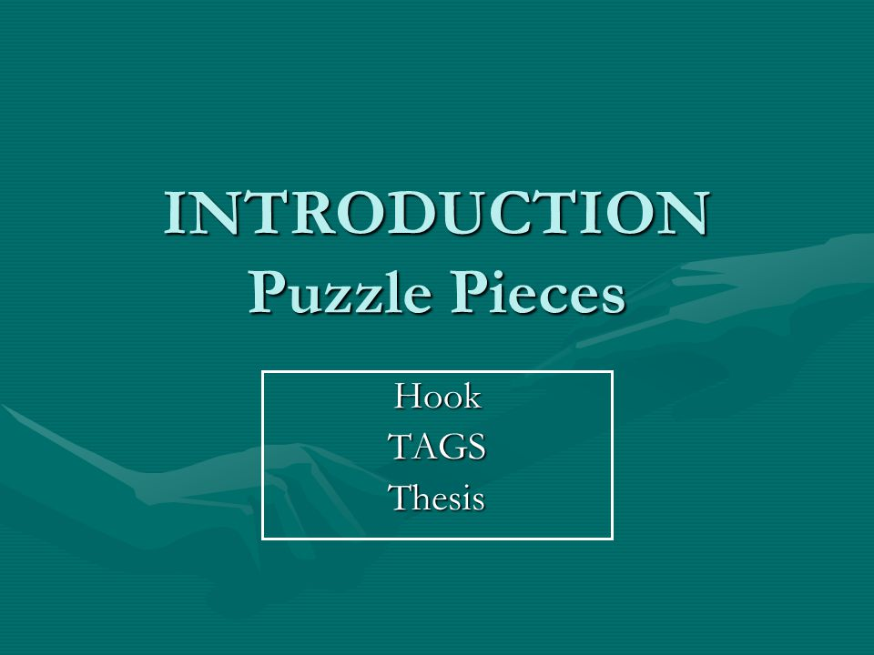 Puzzle Piece #1 = THESIS Use the Topic  Theme approach we have discussed to create a theme statementUse the Topic  Theme approach we have discussed to create a theme statement –If we are true to ourselves, we will live a life without regret.