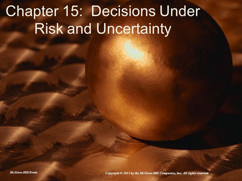 15-22 Manager's Attitude Toward Risk (Figure 15.5)