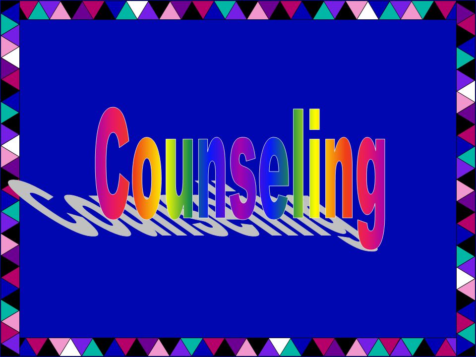 10 Fundamentals for Counseling Rarely be a problem solver; help guide the client to coming up with own solutions Trust your intuition Provide a sense of direction for the client