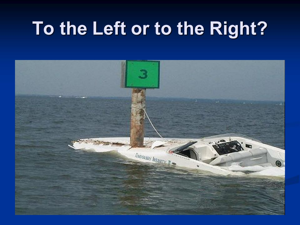 To the Left or to the Right