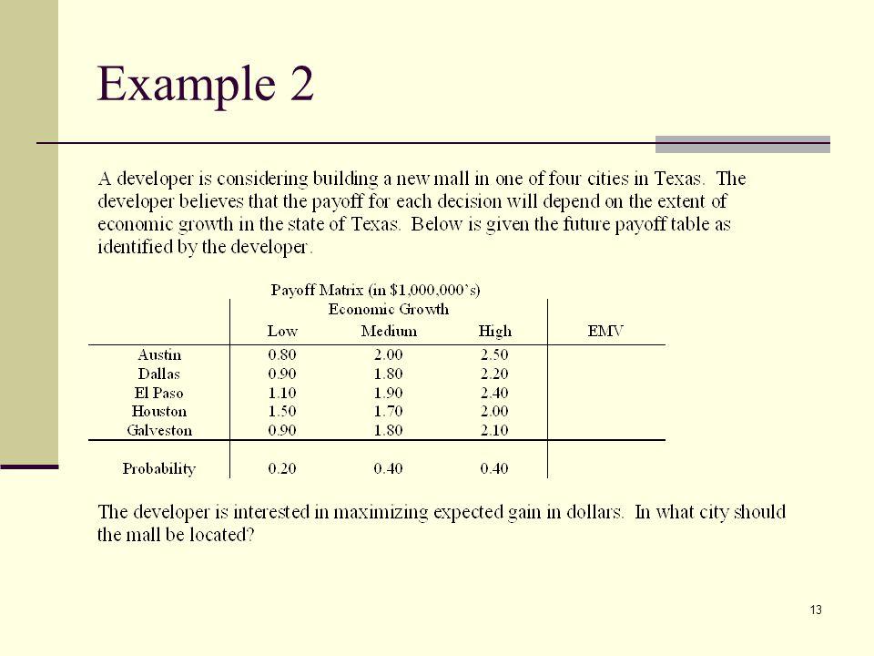13 Example 2