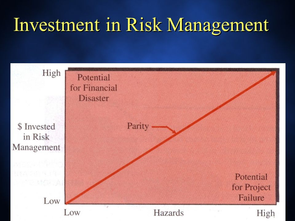 Investment in Risk Management