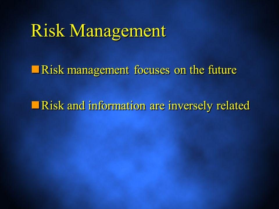 Risk Interdependencies