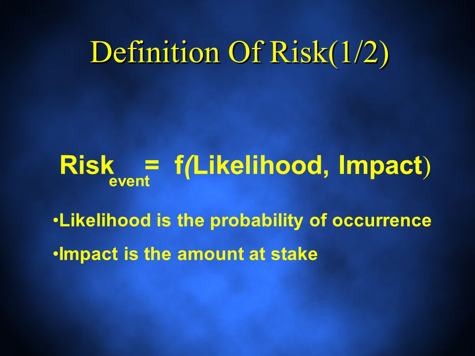 Decision-Making under Risk (1/2) A company wish to invest $50 M to develop a new product Three possible demand: Strong, Even, and Low Three ways or not to develop product A, B, and C Probabilities are assigned to each possible state of nature A company wish to invest $50 M to develop a new product Three possible demand: Strong, Even, and Low Three ways or not to develop product A, B, and C Probabilities are assigned to each possible state of nature