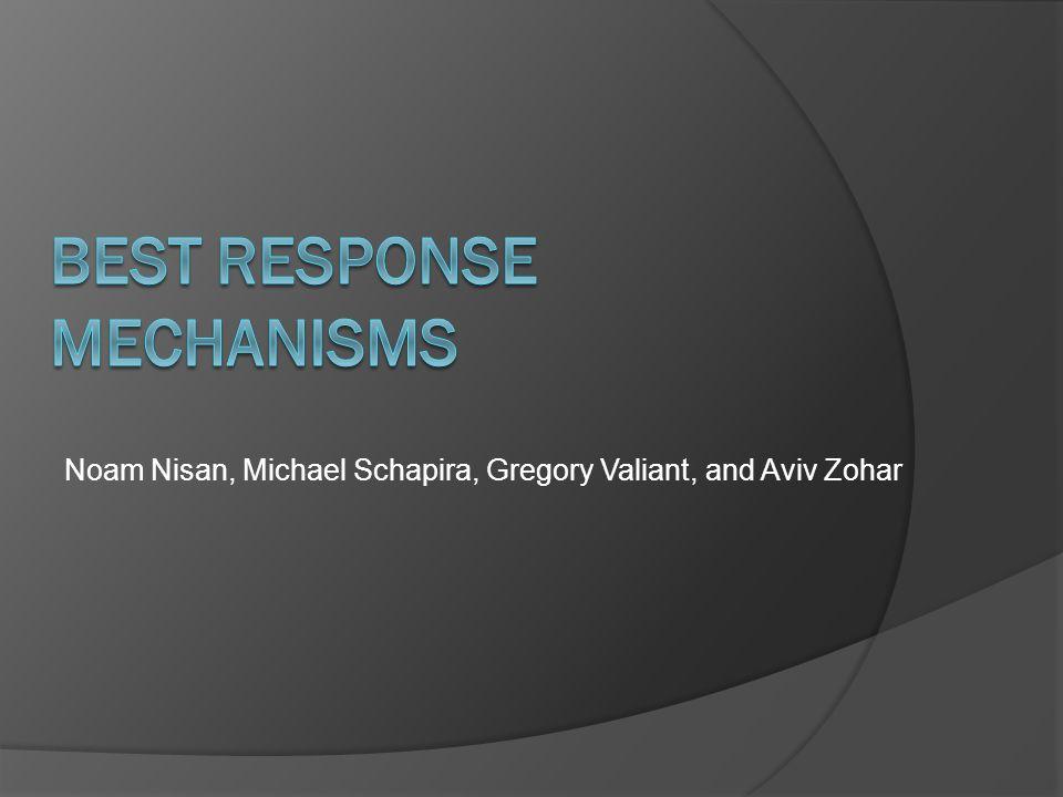Noam Nisan, Michael Schapira, Gregory Valiant, and Aviv Zohar