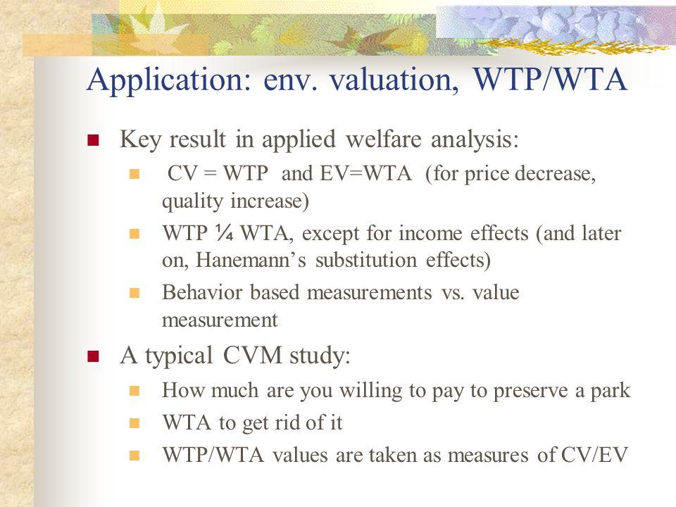 Application: env.