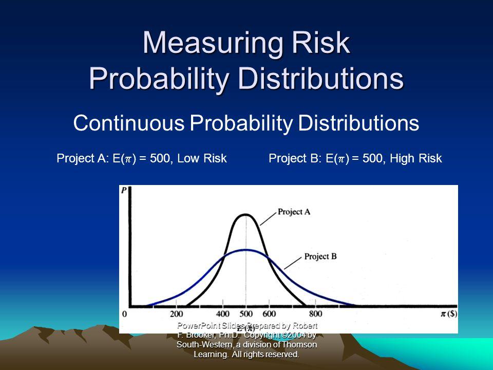 Adjusting Value for Risk Certainty Equivalent Approach Certainty Equivalent Coefficient PowerPoint Slides Prepared by Robert F.
