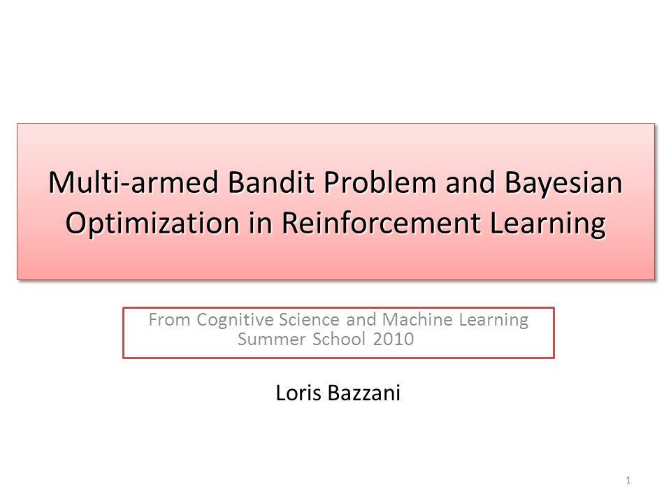 Multi-armed Bandit Problem with experts [Auer et al.