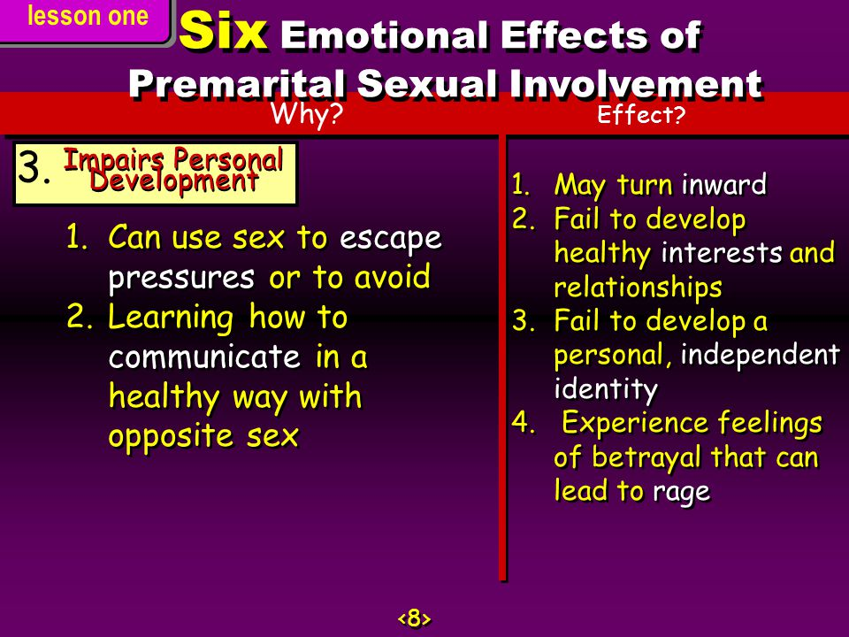 Why.Effect. Impairs Personal Development 3.