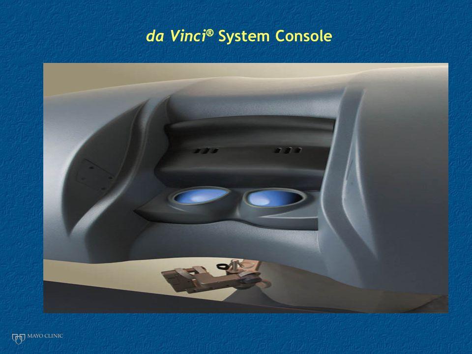 da Vinci ® System Console