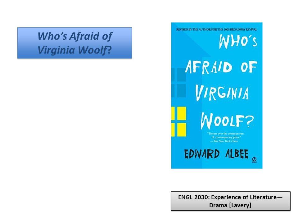 Who's Afraid of Virginia Woolf.Who's Afraid of Virginia Woolf.