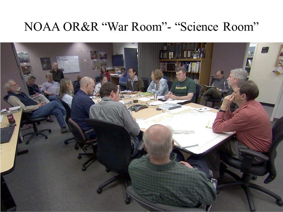 NOAA OR&R War Room - Science Room