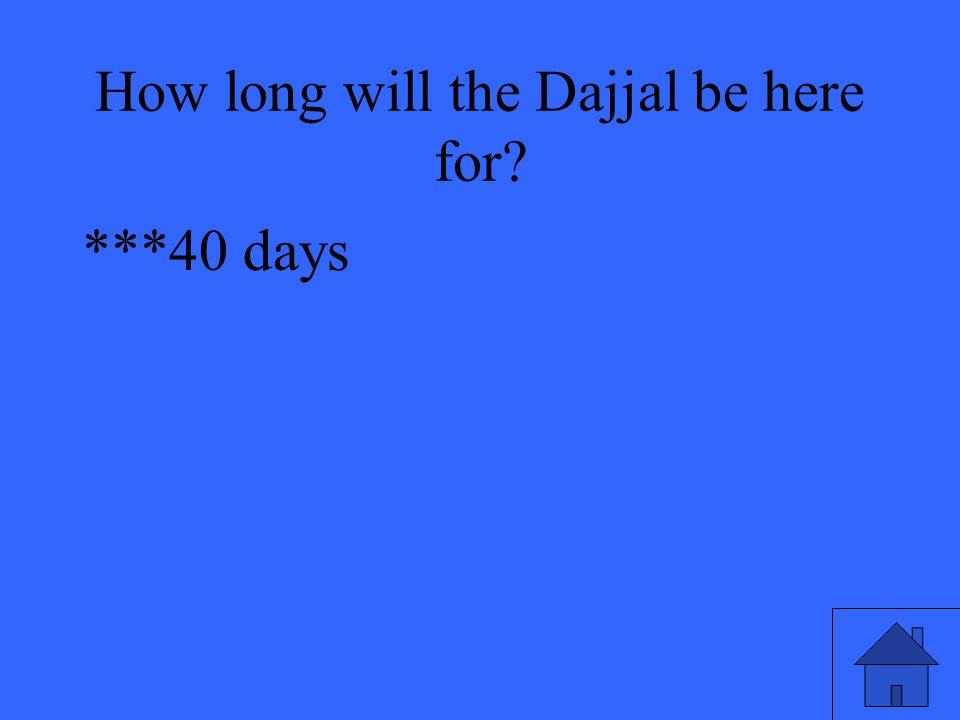 ***40 days