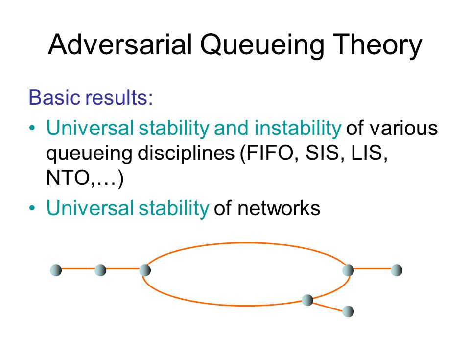 Oblivious Path Selection Also works well for certain dynamic net- works for peer-to-peer systems.